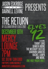The 6th Annual Celebration of Elves featuring Tommy Sims , The McCrary Sisters , Shannon Sanders , Damien Horne , Rachel Lampa and many more special guests