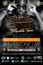 Wale - Folarin Florida Tour Featuring R. Prophet of Nappy Roots, Gameface & Lundo