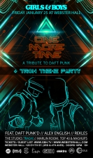 Girls & Boys presents ONE MORE TIME: A DAFT PUNK TRIBUTE PARTY + TRON THEME PARTY