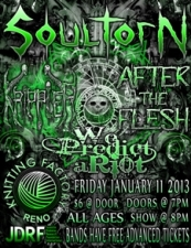SoulTorN featuring Krippler / After the Flesh / We Predict A Riot