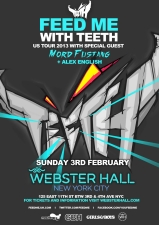 Feed Me with Teeth with MORD FUSTANG &amp; Alex English