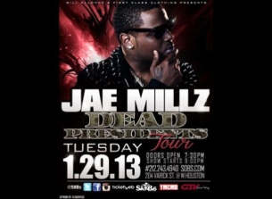 Jae Millz Dead Presidents 2 Tour