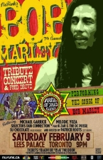 Bob Marley Birthday Tribute featuring House of David Gang / Melodic Yoza / Dub Connection
