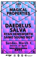 Daedelus featuring Salva , Ryan Hemsworth , and Samo Sound Boy
