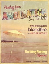 AWOLNATION featuring Blondfire / Mother Mother