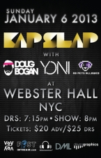 Kap Slap plus Doug Bogan / Yoni / No Pets Allowed