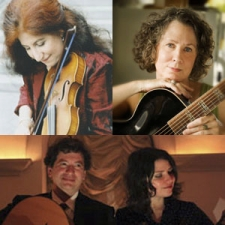 Suzy Thompson and Mary Flower, Craig Ventresco and Meredith Axelrod