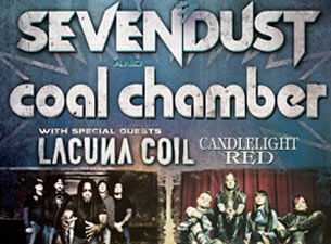 Sevendust and Coal Chamber with Lacuna Coil