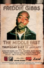 Freddie Gibbs with Karlton Marz , Key Fiya, and more.