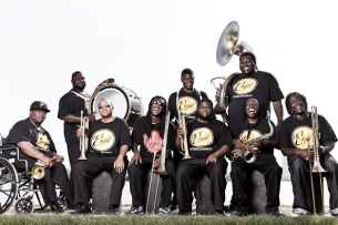 The Hot 8 Brass Band plus Kissing Potion