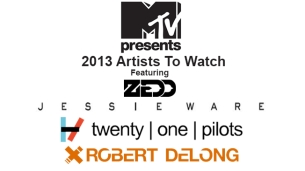 Zedd : Jessie Ware : Twenty One Pilots : Robert DeLong