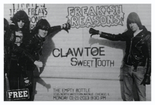 Sweet Tooth [Black Belts] / The Freakish Reasons / Claw Toe