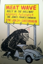 Meat Wave / Bully in the Hallway / Nervous Passenger / James Francis Swanberg