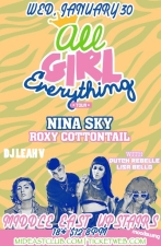 The All Girl Everything Tour featuring Nina Sky, Roxy Cottontail, & more