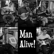 Man Alive! with Hayley Jane And The Primates, Adrian Emberley & the Revolving Band, Sidestep Complex