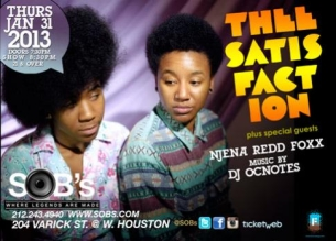 Theesatisfaction, with special guest Njena Reddd Foxxx, Music by: DJ OCnotes