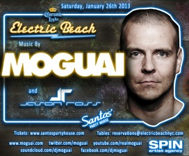 ELECTRIC BEACH featuring Moguai