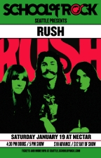 School of Rock Presents : RUSH / All Ages + Bar w/ ID / 4:30 Doors | 5pm Start