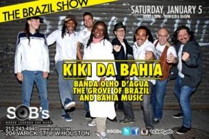 KIKI DA BAHIA & OLHOS D'AGUA BAND, THE BRAZIL SHOW