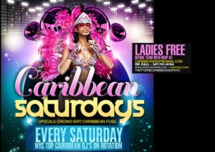 CARIBBEAN SATURDAYS with BACK2BASIC, PANTRIN VIBES,WAX, NATURAL FREAKS, KEVIN CROWN