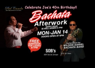 Bachata Mondays with Joe Burgos & the Piel Canela Dance Company