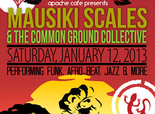 Mausiki Scales and The Common Ground Collective