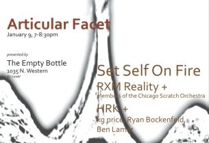 'Articular Facet' featuring Set Self on Fire / RXM Reality: Songs / HKM + Price / Lamar / Bockenfield