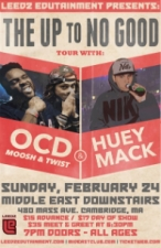 OCD: Moosh & Twist with Huey Mack