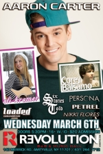Aaron Carter featuring Corey Balsamo / Ali Kramer / Persona / Six Stories Told