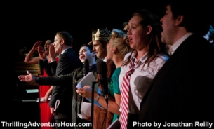The Thrilling Adventure Hour featuring - A staged show in the style of old-time radio with Paul F. Tompkins / Paget Brewster / John Hodgman / James Urbaniak / Marc Evan Jackson