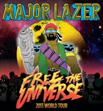 Major Lazer with Keys N Krates & Gent & Jawns
