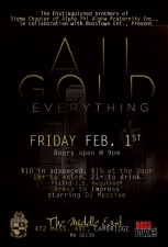 All Gold Everything with DJ Massive