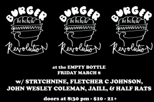 Burger Records Showcase featuring Strychnine / Fletcher C. Johnson / John Wesley Coleman / Jaill / The Half Rats