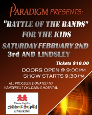 Paradigm presents Battle Of The Bands for The Kids