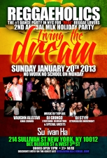 Reggaeholics, the #1 Dance Party in NYC for REAL Reggae Lovers! :