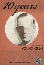 10 Years featuring Young Guns / Lost Element / Failsafe Project / The Sky Turns Red
