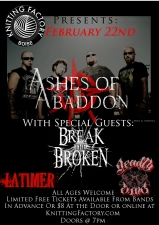 Ashes of Abaddon featuring Break the Broken / Latimer / Deadly Sinz