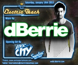 ELECTRIC BEACH featuring dBerrie and Live City