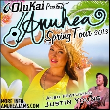 Anuhea plus Justin Young and A Moment's Worth