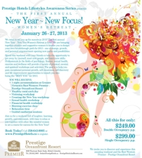 New Year - New Focus! Women's Retreat