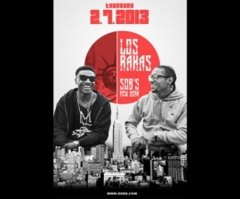 LOS RAKAS with Nitty Scott MC (Brooklyn) Dave East (Harlem) Panama (Brooklyn), HOSTED BY: X96.3FM's PLATANO MAN with DJ DUBBZ