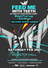 Feed Me with Teeth with MORD FUSTANG & Alex English