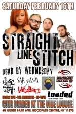Straight Line Stitch featuring Dead By Wednesday / Sensory Defect / Sargasm / Harmonic Dissonance