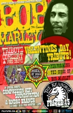 Bob Marley Tribute featuring House of David Gang special guests Andru Branch and DJs Compassion HIFi Soundsytem