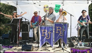 The 22nd Annual Mardi Gras Mambofest with Rhythmtown-Jive featuring Special Guests Tri Tip Trio