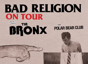 Bad Religion featuring The Bronx and Polar Bear Club