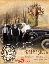 LOUNGE:, The Canyon Riders, (EP Release Show) with Special Guest