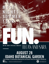 fun. very special guests Tegan and Sara