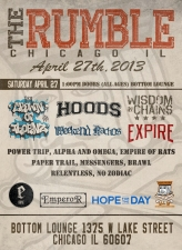 The Rumble - Day 2 featuring Crown of Thornz / Hoods / Wisdom In Chains / Weekend Nachos