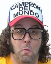 Judah Friedlander from NBC's 30 Rock featuring Rachel Feinstein from NBC's Last Comic Standing